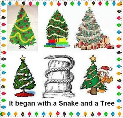Babylonian Christmas Tree Christmas Trees Are Really